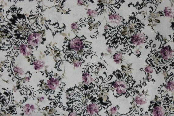 Classic Rose cotton fabric by Quilt Gate MR2060-15E