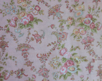 Jessica Cotton Fabric by Quilt Gate MR2130-14B Pink Background