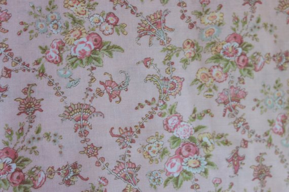 Jessica Cotton Fabric by Quilt Gate MR2130-14B Peach