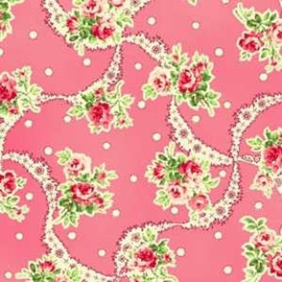 Sweet Charms cotton fabric by Quilt Gate MR2150-12A