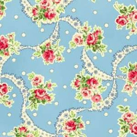 Sweet Charms cotton fabric by Quilt Gate MR2150-12B