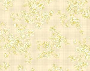 Grace Holiday cotton fabric by Quilt Gate MR2160-14A Roses on Cream