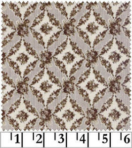 Amelia cotton fabric by Quilt Gate MR2170-16F Brown