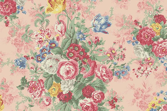 Julia Cotton Fabric by Quilt Gate mr2180-11B