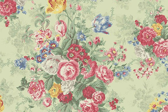 Julia Cotton Fabric by Quilt Gate MR2180-11c