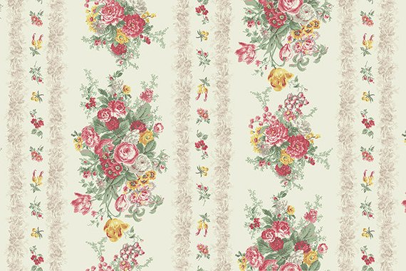 Julia Cotton Fabric by Quilt Gate MR2180-12A