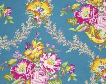 Good Company Collection cotton fabric by Free Spirit Fabrics PWJP089-Peacock