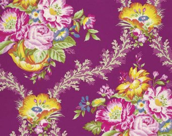 Good Company Collection cotton fabric by Free Spirit Fabrics PWJP089-Garnet