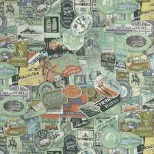 Eclectic Elements cotton fabric by Tim Holtz for Free Spirit PWTH009multi