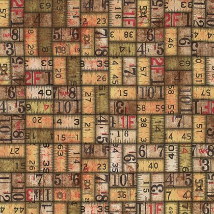 Eclectic Elements cotton fabric by Tim Holtz for Free Spirit PWTH010Neutral