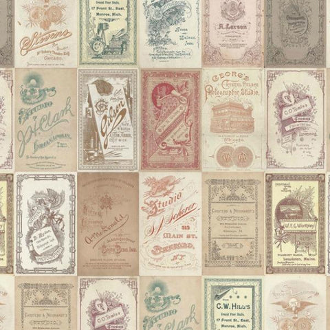 Eclectic Elements cotton fabric by Tim Holtz for Free Spirit PWTH013multi
