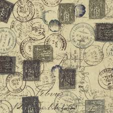 Eclectic Elements cotton fabric by Tim Holtz for Free Spirit PWTH021neut