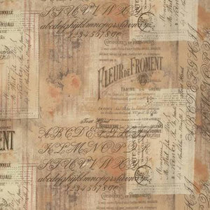 Wallflower cotton fabric by Tim Holtz for Free Spirit PWTH036Multi