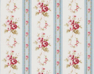 Petal cotton fabric by Tanya Whelan for Free Spirit PWTW056blue