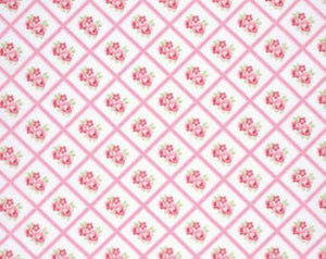 Lulu Roses  cotton fabric by Tanya Whelan for Free Spirit PWTW095pink
