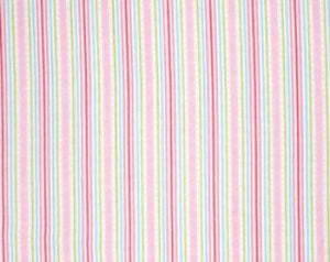 Lulu Roses  cotton fabric by Tanya Whelan for Free Spirit PWTW097pink stripe