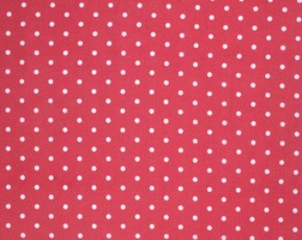 Lulu Roses  cotton fabric by Tanya Whelan for Free Spirit PWTW098red dot