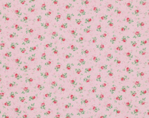 Rosewater cotton fabric  Free Spirit pwvm108cottoncandy Rose Buds