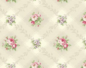Love Rose Love cotton fabric by Quilt Gate Ru2300-12A