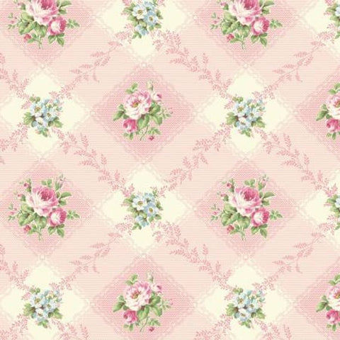 Ruru Love Rose Love cotton fabric by Quilt Gate Ru2300-12B