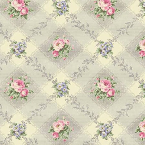 Ruru Love Rose Love cotton fabric by Quilt Gate Ru2300-12D