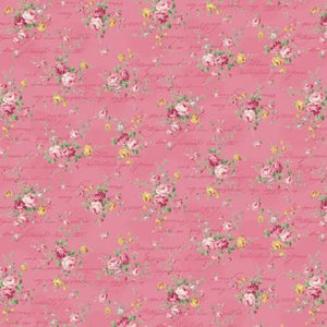 Love Rose Love cotton fabric by Quilt Gate Ru2300-15E