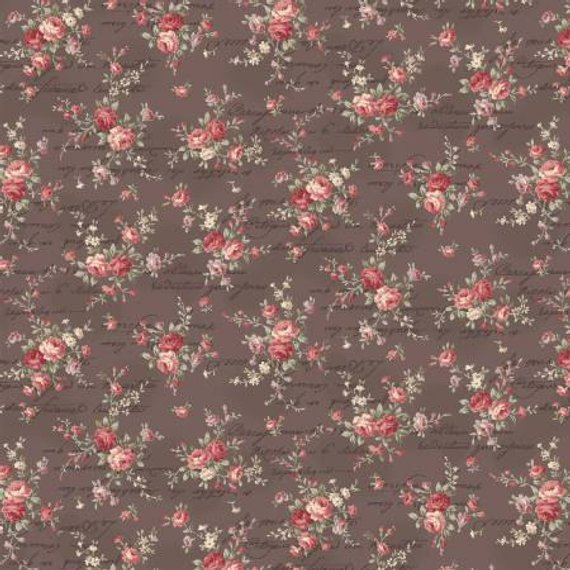 Love Rose Love cotton fabric by Quilt Gate Ru2300-15F