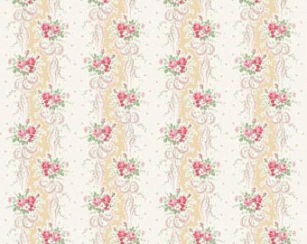 English Rose Garden cotton fabric by Quilt Gate RU2310-12A
