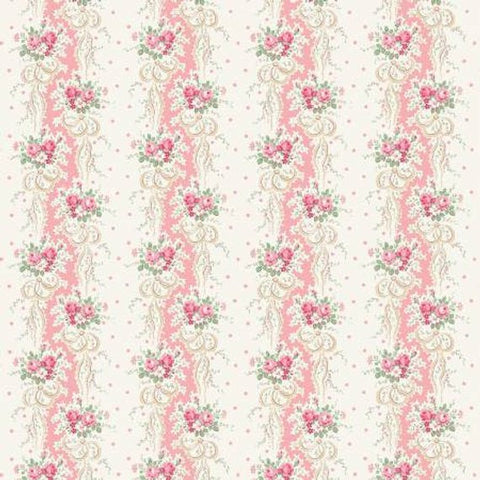 English Rose Garden cotton fabric by Quilt Gate RU2310-12B