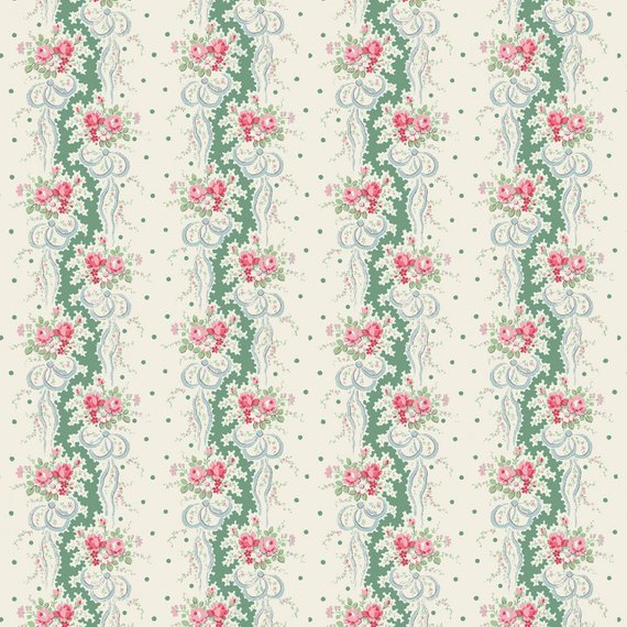 English Rose Garden cotton fabric by Quilt Gate RU2310-12C