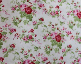 Delilah Amelie cotton fabric by Tanya Whelan for Free Spirit TW35