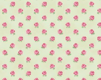 Emma's Garden cotton fabric by Clothworks Y1922-23