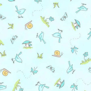 Guess How Much I Love You  cotton fabric by Clothworks Y2113-32