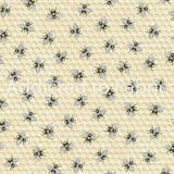 Bee Toss Fabric by the Yard, Timeless Treasures, Hive Rules Collection