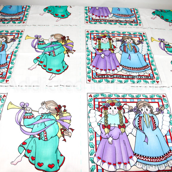 SPECIAL Christmas Panel - Daisy Kingdom, Fabric Panels, Pillows, Quilting