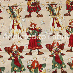 Alexander Henry Fabrics, Ragg Angels, Fabric by the Yard