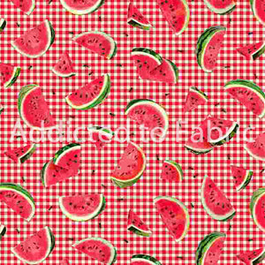 Ants and Watermelon Fabric by the Yard or Half Yard, One in a Melon Collection