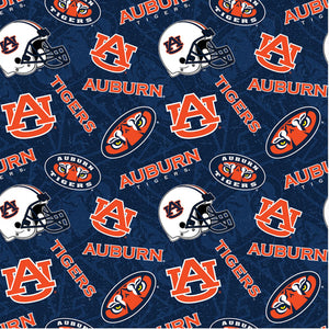 Auburn Tigers, Auburn University Fabric by the Yard, Fabric by the Half Yard