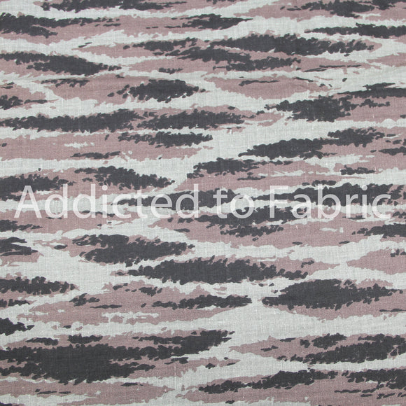 Camouflage Print Fabric by the Yard, Fabric by the Half Yard, Army, Military, Camo