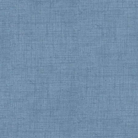 Blue Denim Mix Fabric by the Yard or Half Yard, Red Winter Barn, Timeless Treasures