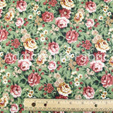 Marcus Brothers Floral Fabric by the Yard or Half Yard, Cotton