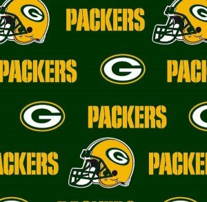 Green Bay Packers Fabric by the Yard, NFL Licensed Cotton Fabric