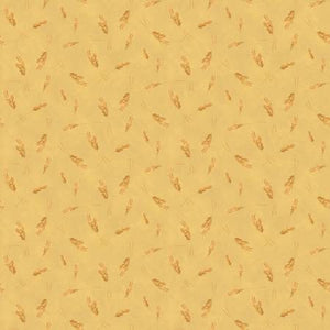 Homestead Life Wheat Gold Fabric by the Yard, Fabric by the Half Yard, Farm, Riley Blake