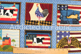 Warren Kimble by Cranston Fabric by the Yard or Half Yard, Patriotic