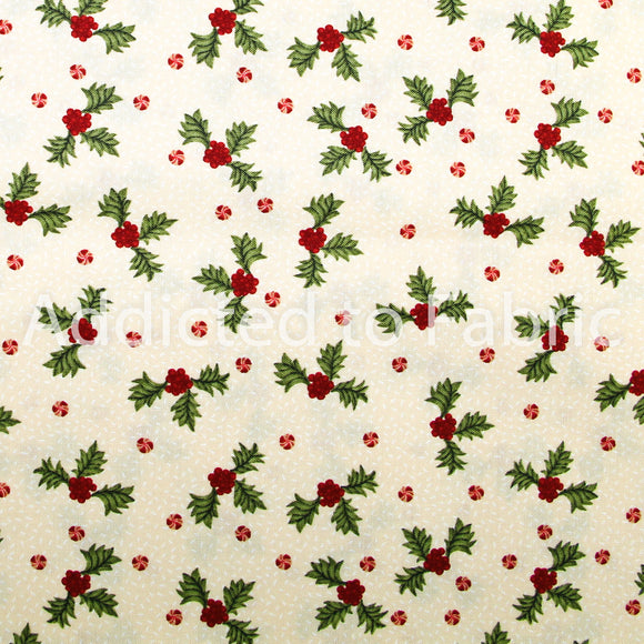 Ginger & Spice Christmas Fabric by the Yard, by the Half Yard, Brother Sister Design Studio