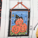 Daisy Kingdom Three Pumpkins Door Banner, Hanger