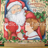 Susan Winget Christmas Fabric, Pillow Panels, Quilting Panels