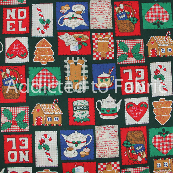 Half Yard Fabric, Christmas Patches, Fabric Traditions