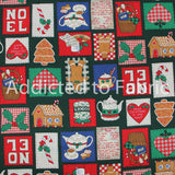Christmas Patches, Fabric Traditions
