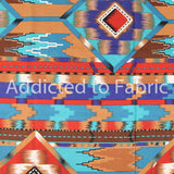 Southwest Fabric by the Half Yard, Aztec